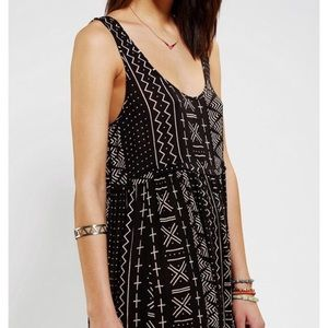 Urban Outfitters Black Tribal dress